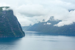 Geiranger Fjord (Norge) Stock Photography