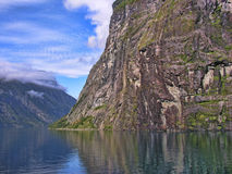 Geiranger Fjord, Norway stock photo