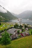 Geiranger fjord Norway Stock Photo