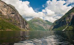 Geiranger fjord, Norway Stock Photography