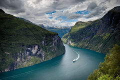 Free Geiranger Fjord, Norway Royalty Free Stock Photography - 28033897
