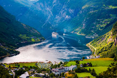 Free Geiranger Fjord, Norway. Royalty Free Stock Photography - 80074037