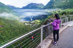 Geiranger fjord, Norway. Stock Images