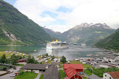 Geiranger fjord, Norway. Royalty Free Stock Photography
