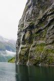 Geiranger fjord Stock Photography