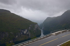 Geiranger fjord. Stock Image