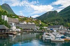 Geiranger, Noruega Foto de archivo libre de regalías