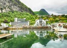 Geiranger, Noruega imagem de stock