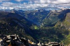 Geiranger, Norvège Photo stock