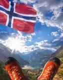 geiranger Norvège de fjord Images libres de droits