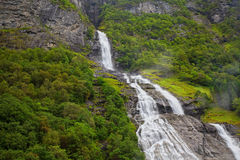 Geiranger in Norway Royalty Free Stock Photo