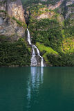 Geiranger in Norway Stock Photography
