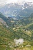 Geiranger Norwegen Stockfotografie