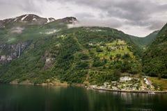 Geiranger Norwegen Stockbilder