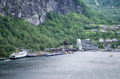Geiranger stock images