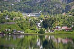 Geiranger village Royalty Free Stock Image