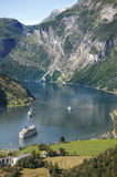 Geirangerfjord Royalty Free Stock Photos