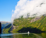 Geirangerfjord Royalty Free Stock Images