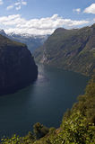 Geirangerfjord. View of Geirangerfjord, UNESCO world heritage site (norway Stock Photos