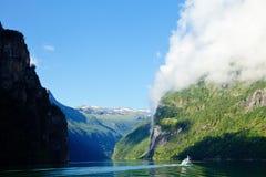 Geirangerfjord Stock Photography