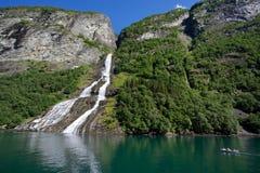Geirangerfjord Fotos de Stock