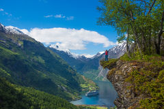 Geirangerfjord Photos stock