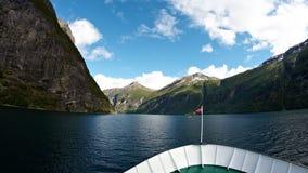 Geirangerfjord Стоковое Изображение