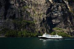 Geirangerfjord Stock Afbeeldingen