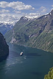 Geirangerfjord Royalty Free Stock Photography