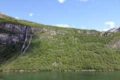 Geirangerfjord, more og Romsdal, Norway. Royalty Free Stock Photography