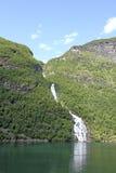 Geirangerfjord,More og Romsdal, sunnmore Norway. Royalty Free Stock Images