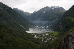 Geirangerfjord Royalty Free Stock Photo