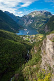 Geirangerfjord, Norway stock images