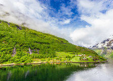 Geirangerfjord, Norway Stock Image