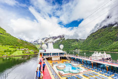 Geirangerfjord, Norway Royalty Free Stock Image