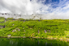 Geirangerfjord, Norway Royalty Free Stock Photos