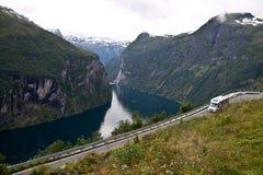 Geirangerfjord Stock Image