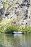Geirangerfjord - señal natural famosa en Noruega Fotos de archivo