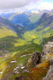 geirangerfjord - view from the top of dalsnibba Royalty Free Stock Photos