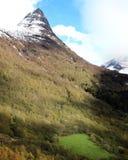 Geirangerlandschap stock fotografie