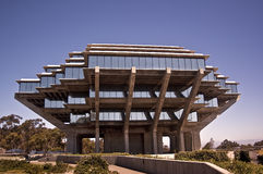 Geisel Library. This is a picture of the Geisel Library at the Univesity of California at San Diego Stock Photo