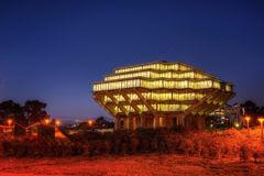 Geisel Library at UCSD. Taken in 2015 Royalty Free Stock Image