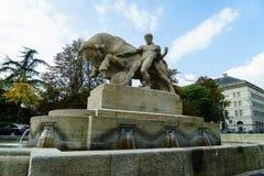 Geiser喷泉 库存图片