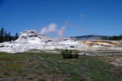 Geisers 21 van het Yellowstone Nationale Park Stock Foto