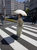 Geisha fotografie stock