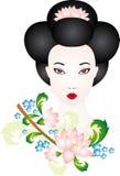 Geisha vektor abbildung
