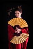 geisha Arkivbild