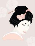 Geisha Fotografering för Bildbyråer