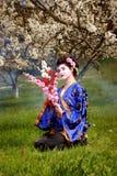 Geisha Foto de archivo