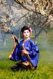 Geisha Fotos de archivo libres de regalías